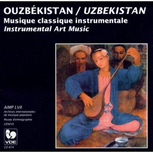 Various - Usbekistan: Instr. Kunstmusik, Uzbekistan - Preis vom 28.02.2021 06:03:40 h