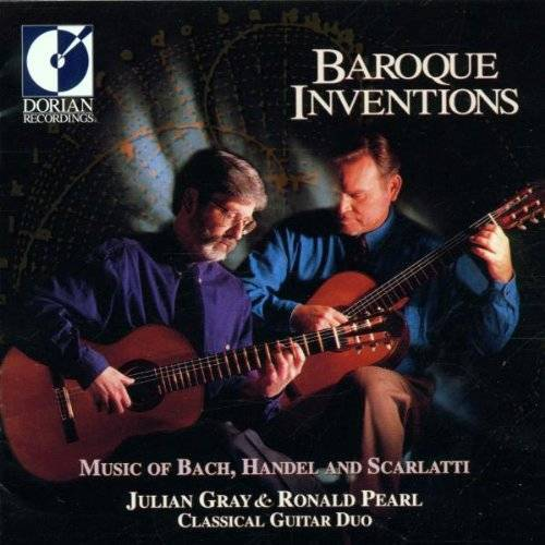 Julian Gray - Barocke Inventionen (Musik für zwei Gitarren) - Preis vom 24.02.2021 06:00:20 h