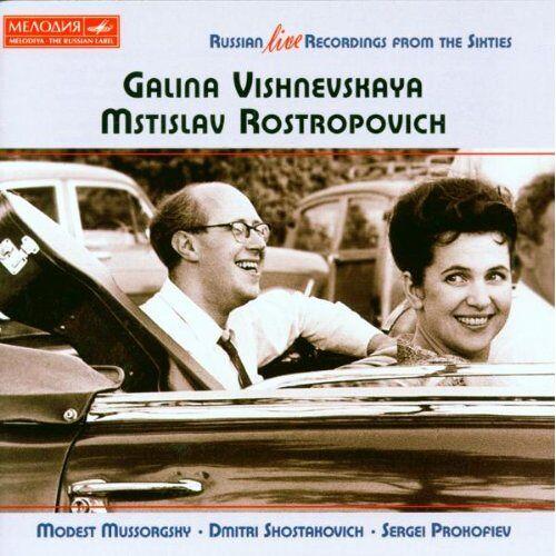 Galina Vishnevskaya - Russian Live Recordings From The Sixties - Preis vom 14.01.2021 05:56:14 h