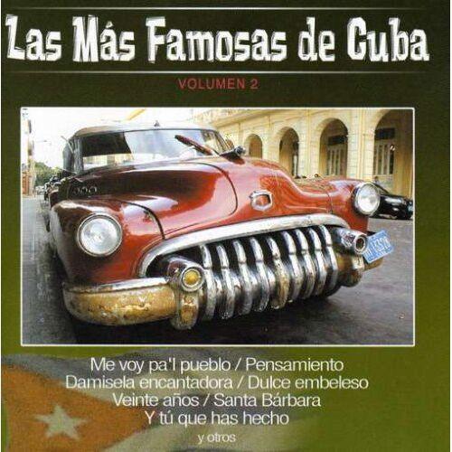 Las Mas Famosas de Cuba - Vol.2-Las Mas Famosas de Cuba - Preis vom 17.01.2021 06:05:38 h