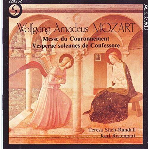 W.a. Stich-Randall / Ristenpart / + / Mozart - Messe KV 317 / Vesperae KV 339 - Preis vom 18.04.2021 04:52:10 h
