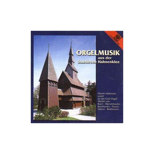 Martin Hofmann - Orgelmusik aus der Stabkirche Hahnenklee - Preis vom 03.09.2020 04:54:11 h