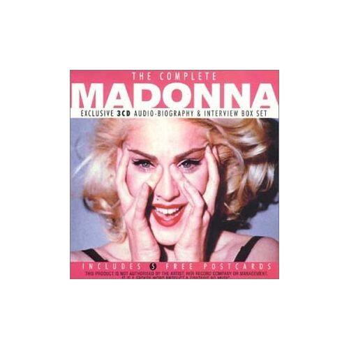 Madonna - Complete Madonna - Preis vom 20.10.2020 04:55:35 h