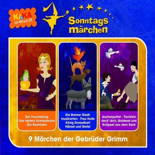 Ki.Ka Sonntagsmärchen - Ki.Ka Sonntagsmärchen 3-CD Hörspielbox - Preis vom 18.10.2020 04:52:00 h