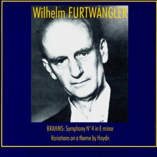 Wilhelm Furtwängler - Furtwängler Vol. 13 (Brahms) - Preis vom 14.01.2021 05:56:14 h