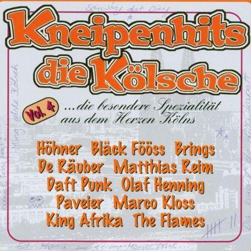 Various - Kneipenhits-Die Koelsche Vol.4 - Preis vom 20.10.2020 04:55:35 h