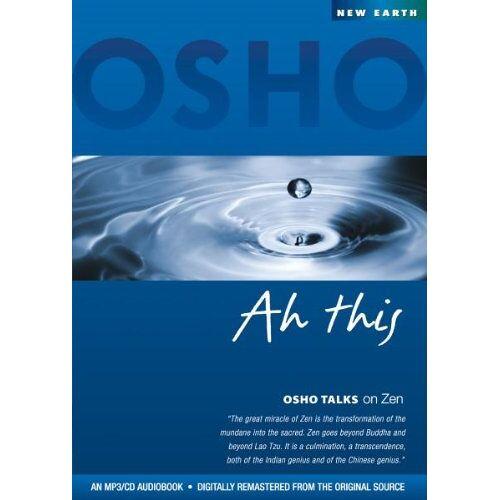 Osho - Ah This (Osho Talks on Zen) MP3-Disc - Preis vom 22.01.2020 06:01:29 h