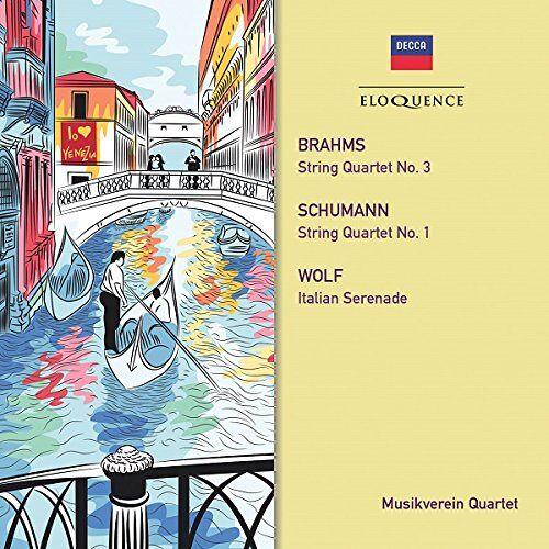 Musikverein Quartet - Brahms/Schumann: String Quarte - Preis vom 06.05.2021 04:54:26 h