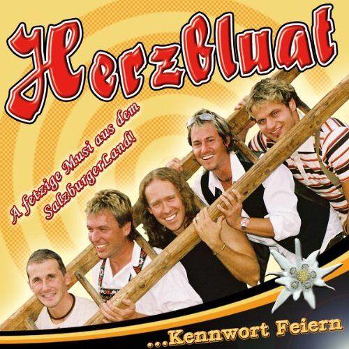 Herzbluat - Kennwort Feiern - Preis vom 07.05.2021 04:52:30 h