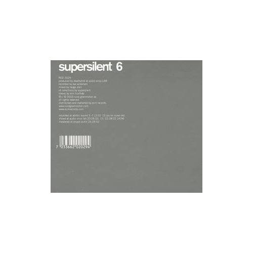 Supersilent - Supersilent 6 - Preis vom 26.01.2021 06:11:22 h