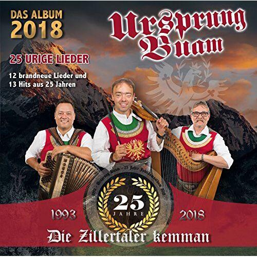 Ursprung Buam - 25 Jahre- 25 Lieder - Preis vom 24.02.2021 06:00:20 h