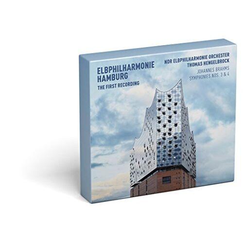 NDR Elbphilharmonie Orchester - Elbphilharmonie - Die erste Aufnahme: Brahms - Sinfonien 3 & 4 (Deluxe Edition / CD+BluRay) - Preis vom 16.04.2021 04:54:32 h
