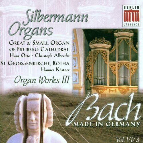C. Albrecht - Silbermann Organs-Organ Work I - Preis vom 28.02.2021 06:03:40 h