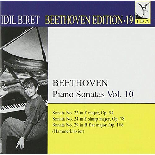 Idil Biret - Sonaten 22/24/29 Hammerklavier - Preis vom 18.04.2021 04:52:10 h