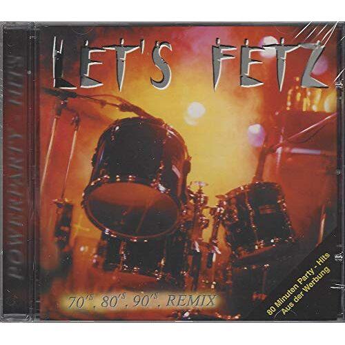 Die Thannhausner - Let's Fetz (Powerparty-Hits 70s, 80s, 90s Remix) - Preis vom 10.04.2021 04:53:14 h