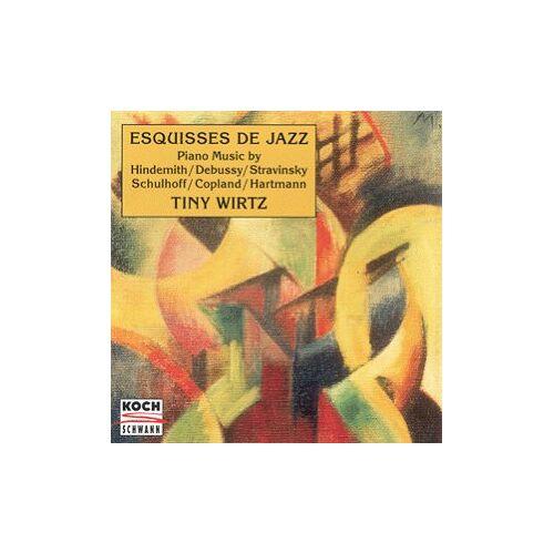 Tiny Wirtz - Esquisses de Jazz - Preis vom 09.12.2019 05:59:58 h