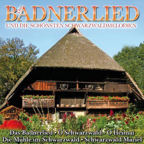 Various - Das Badnerlied und die schönsten Schwarzwaldmelodien - Preis vom 18.04.2021 04:52:10 h