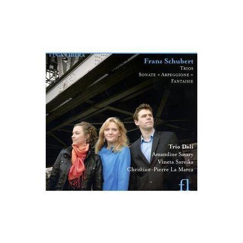 Trio Dali - Schubert: Klaviertrios D 898 & 929/Arpeggione-Sonate D 821/Fantasie D 934 - Preis vom 16.01.2021 06:04:45 h