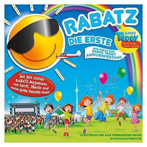 - Radio Teddy - Rabatz die Erste (Radio TEDDY Hits) - Preis vom 22.02.2021 05:57:04 h