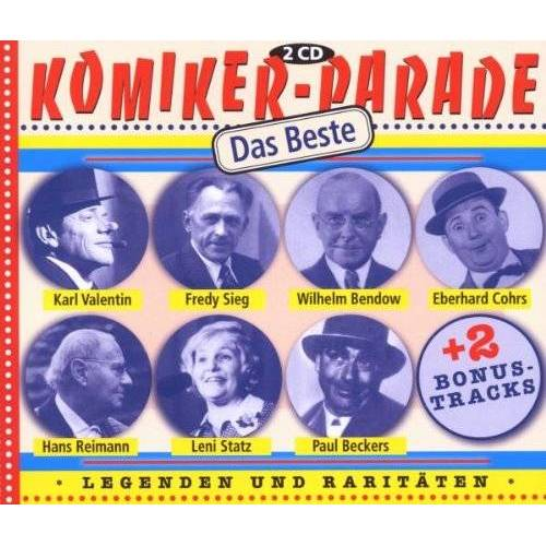 Various - Komiker-Parade Das Beste - Preis vom 06.05.2021 04:54:26 h