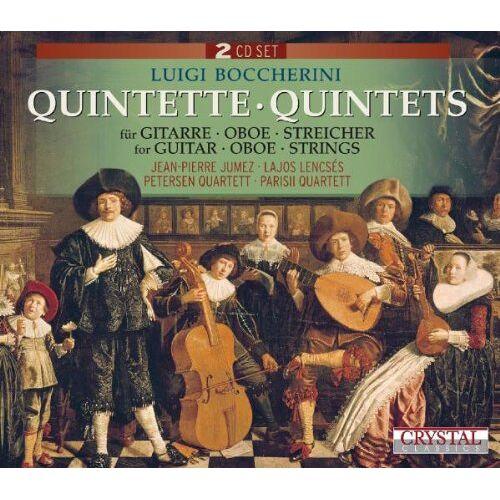 Jean-Pierre Jumez - Quintette/Quintets für Gitarre,Oboe,Streicher - Preis vom 24.02.2021 06:00:20 h