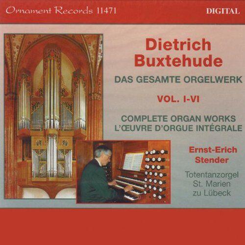 Ernst-Erich Stender - Buxtehude Orgelwerke Kpl. - Preis vom 12.05.2021 04:50:50 h