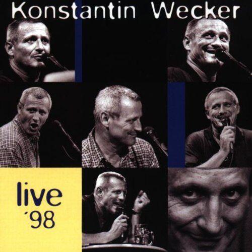 Konstantin Wecker - Live '98 - Preis vom 28.02.2021 06:03:40 h
