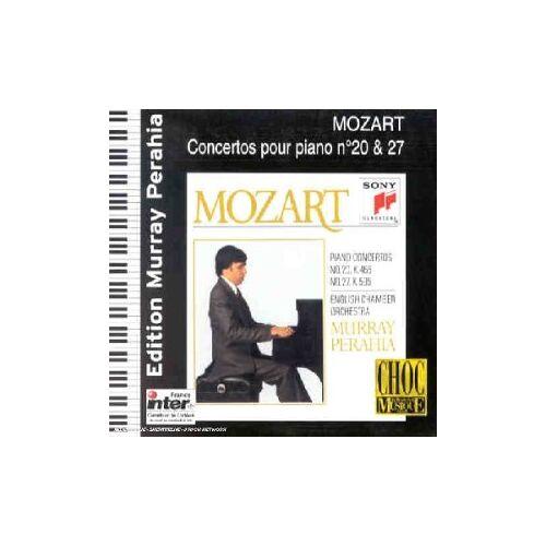 Murray Perahia - Concerto Pour Piano N°20 K.466 - Concerto Pour Piano N°27 K.595 - Preis vom 13.05.2021 04:51:36 h