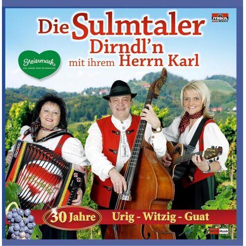 Various - 30 Jahre Urig-Witzig-Guat - Preis vom 19.07.2019 05:35:31 h