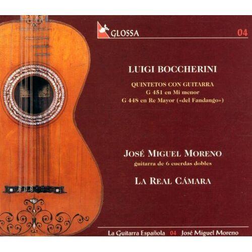 Moreno, Jose Miguel - Luigi Boccherini: Quintette mit Gitarre (Die spanische Gitarre Vol.4) - Preis vom 13.05.2021 04:51:36 h