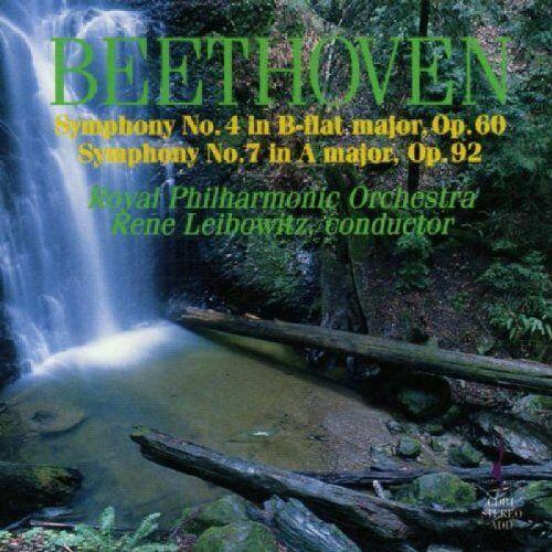 Rene Leibowitz - Sinfonien 4 und 7 - Preis vom 16.04.2021 04:54:32 h