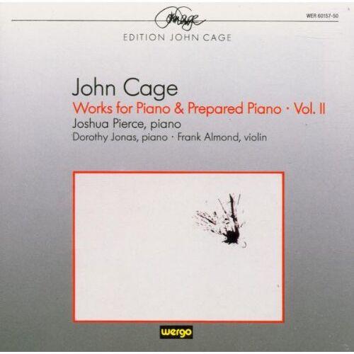 Pierce - John Cage: Werke für Klavier & präpariertes Klavier (Works for piano & prepared piano) - Vol. 2 - Preis vom 10.04.2021 04:53:14 h