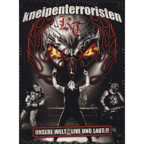 - Kneipenterroristen - Unsere Welt: Live und Laut!! (3 Discs + Audio-CD) - Preis vom 18.10.2020 04:52:00 h