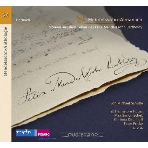 Hoger - Mendelssohn Anth.X: Mendelssohn-Almanach - Preis vom 05.05.2021 04:54:13 h