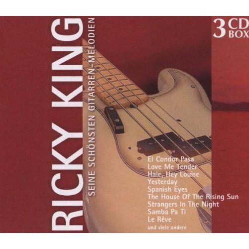 Ricky King - Seine Schönsten Gitarren-Melodien - Preis vom 11.05.2021 04:49:30 h