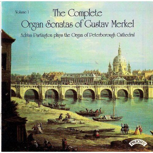 Adrian Partington - Merkel Orgelsonaten Vol.1 - Preis vom 25.02.2021 06:08:03 h