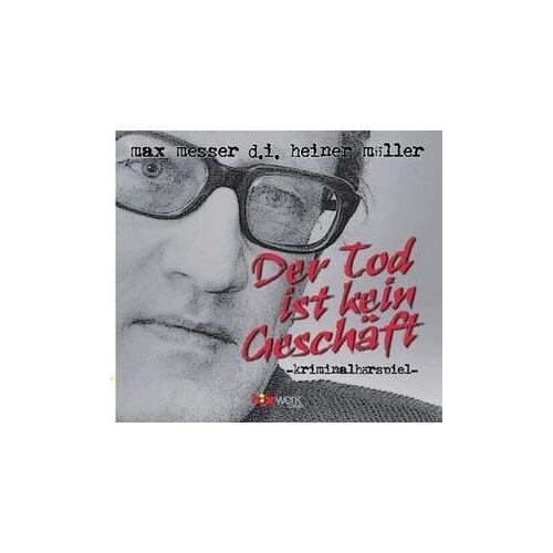 Max Messer - Der Tod ist kein Geschäft, 1 Audio-CD - Preis vom 23.01.2021 06:00:26 h