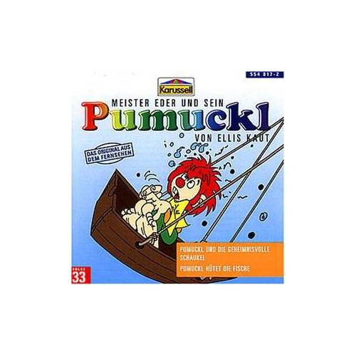 Pumuckl - 33:Pumuckl U.d.Geheimnisvolle Schaukel/Hütet Fisch - Preis vom 04.09.2020 04:54:27 h