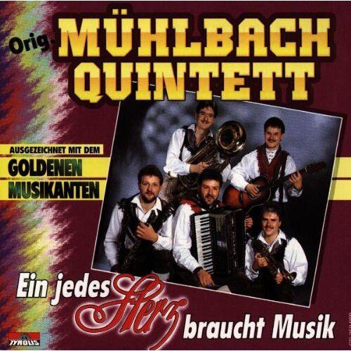 Orig. Mühlbach Quintett - Ein Jedes Herz Braucht Musik - Preis vom 20.10.2020 04:55:35 h