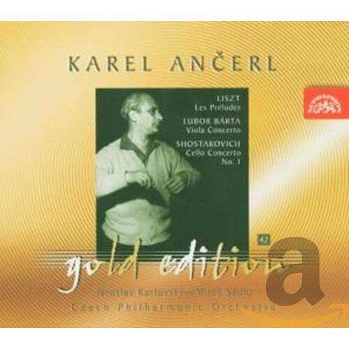 Karlovsky - Ancerl Gold ed.42: Cellokon./+ - Preis vom 05.05.2021 04:54:13 h