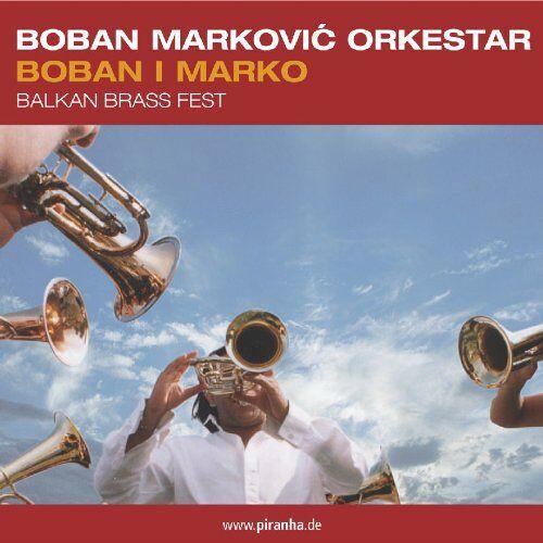 Boban Markovic Orkestar - Boban I Marko - Balkan Brass Fest - Preis vom 17.01.2021 06:05:38 h