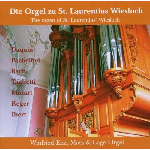 Orgel Winfried Enz - The Organ of St.Laurentius Wiesloch - Preis vom 17.04.2021 04:51:59 h