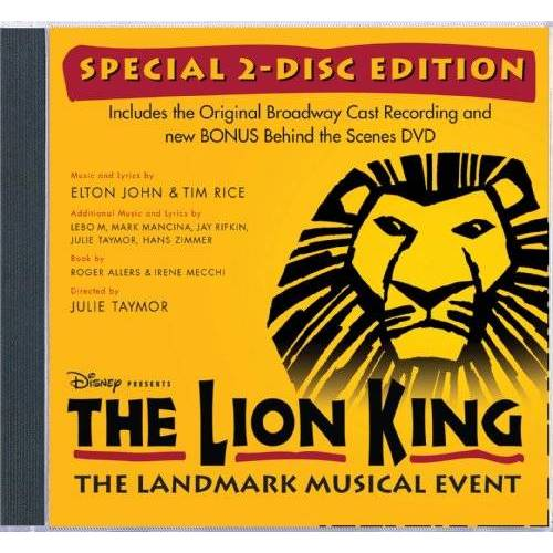 Original Broadway Cast - Lion King on Broadway - Preis vom 28.02.2021 06:03:40 h