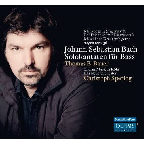 Bauer, Thomas E. - Solokantaten für Bass - Preis vom 03.09.2020 04:54:11 h