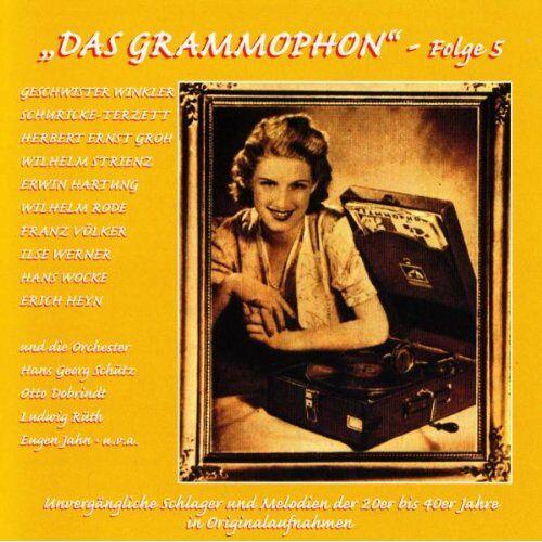 Various - Das Grammophon-Folge 5 - Preis vom 18.10.2020 04:52:00 h