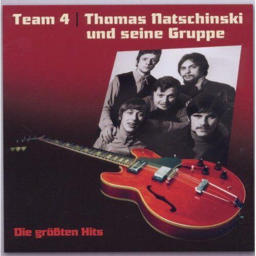 Team 4 & Natschinski, Thomas Gruppe - Team 4 und Thomas Natschinski Gruppe-die Gr.Hits - Preis vom 14.01.2021 05:56:14 h
