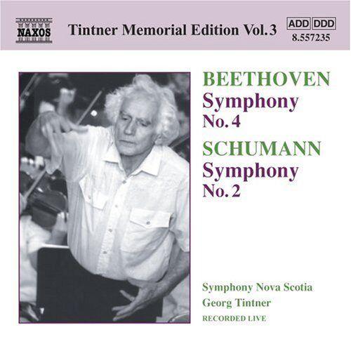 Georg Tintner - Symphonie Nr. 4/Symphonie Nr. 2 - Preis vom 11.05.2021 04:49:30 h