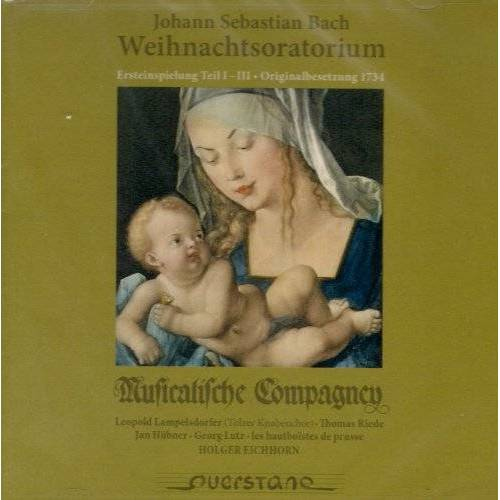 Lampelsdorfer - Weihnachtsoratorium Bwv 248,Teil 1 Bis 3 - Preis vom 04.09.2020 04:54:27 h