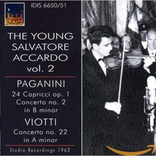 Salvatore Accardo - The Young Salvatore Accardo, Vol. 2 - Preis vom 11.04.2021 04:47:53 h