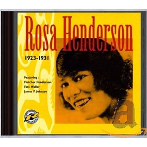 Rosa Henderson - ROSA HENDERSON 1923-1931 - Preis vom 14.04.2021 04:53:30 h